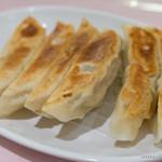 揚子江菜館 - 焼き餃子【2014年7月】