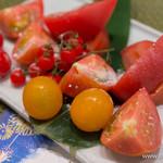 いちりん - トマトトマトトマトトマトトマトとお塩【2014年8月】