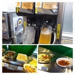 福岡空港ビアテラス - ビールサーバー、楽しい^^