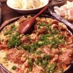 焼き鳥ダイニング 鈴木 - 鶏かわ(甘い柳川風みたい)