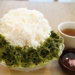 カフェ クノップゥ - 料理写真:桜氷(750円)