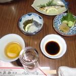 南風荘 - 料理写真:前菜