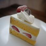 パティスリー ラ グリシーヌ - ショートケーキ