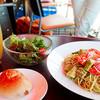 カフェ&バー 空 - 料理写真:アボカドとトマトの冷製パスタ