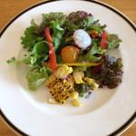 トラトッリア ルッチ - ランチセットのサラダ