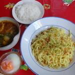 カレ衛もん - カレーつけ麺(2014年8月来店)