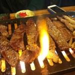 超レトロ焼肉桜坂 - 香ばしく。。