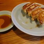 弁慶ラーメン - 餃子