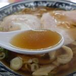 尾浦 - 甘味を強く感じるスープです
