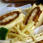 ウッドランドカフェ - 上州麦豚カツサンド