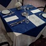 レストランアラスカ - 我々のテーブル