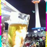 京都新阪急ホテル 阪急トップビアガーデン京都 - 夏の暑い日にビールと京都タワー最高です( *՞ਊ՞*)ノ 2日連続行きました♡(o^^o)