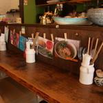 ヤドカリ食堂 - カウンター