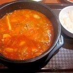 オモニのひと味 - 純豆腐チゲ!(2014,8/9)