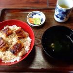 加茂川 - うな丼¥860