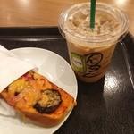 スターバックスコーヒー - ☆夏野菜とベーコンのタルティーヌ