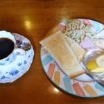 ひまわり - 料理写真:モーニング(全体)
