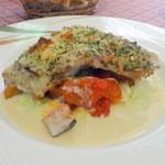 シラノ・ド・ベルジュラック - 真鯛の香草パン粉焼き