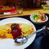 自由軒 - 料理写真:海軍ケチャップオムライスセット