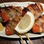 ふらり - トマト肉巻き180円