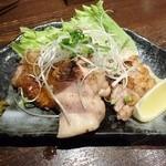 ふらり - 大山鶏炭火炙り600円