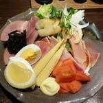 ふらり - 居酒屋のハムサラダ520円