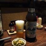 ふらり - スーパードライ大瓶 590円