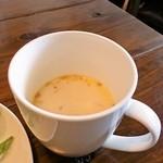 mou - ランチセットのスープ
