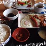 ガスト - 充実朝定食♡