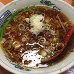 麗都  - 台湾ラーメン+中華飯セット ¥980