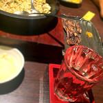 月の坊 - わさび飯とタタミ蛍烏賊と獺祭♡