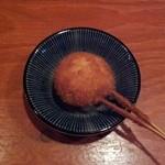 すみれ堂 - マッシュルームクリームチーズ詰め