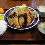 中華飯店 実吉 - とんかつ定食