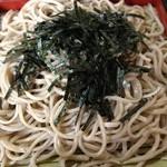 きつ井 - 蕎麦のアップ
