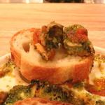 cafe 104.5 - ツブ貝のグラタン エスカルゴ バター