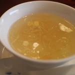 涵梅舫 - 冬瓜と干し貝柱のスープ