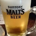和浦酒場 弐 - 生ビール中 380円
