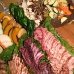 10th story - 豊富なお肉にお野菜。美味しくなる、スプレーにびっくりლ(゚д゚ლ)