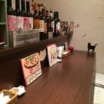 イタリア酒場料理 チーナ邸 - カウンター席