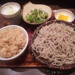29796500 - せいろと炊込みご飯(850円)