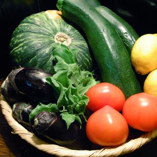 契約農家直送の新鮮野菜を是非ご賞味ください!