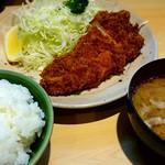 丸一 - ロースカツ定食