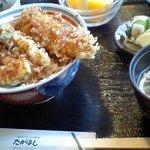 食べ処 たかはし - 穴子天丼