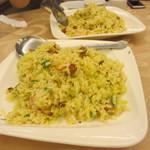 紅磡  - 最後はやっぱり炒飯、これは万国共通で人気の料理、高校生たちも大満足でした
