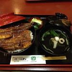 うなぎや - うなぎ丼3000円 2014.8.13撮影