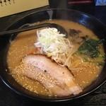 らー麺 家康 北郷店 - ワンコインの味噌ラーメン