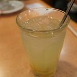 パーラーみかど - アイス柚子茶