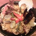 タパスブランコ - 魚介のパエリア2,322円