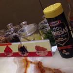 サンマルコ - 調味料と干し葡萄などふりかけ物