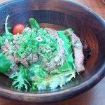 YEBISU DINING - サーロインステーキ丼(2014.8)
